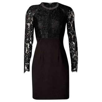 Monique Lhuillier Black Lace Dress for Women