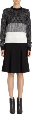 Proenza Schouler Combination Knit Sweater