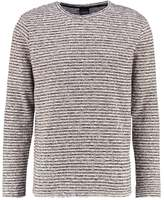 Jack & Jones Jorelijah Regular Fit Jumper Cloud Dancer/black Raven