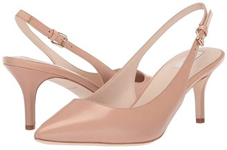 Cole Haan 65 mm Vesta Slingback (Nude Leather) Women's Shoes