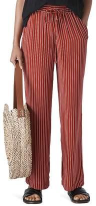 Whistles Striped Wide-Leg Pants