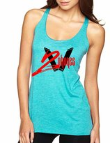 Allntrends Women's Tank Top I Got Two Phones Hip Hop Top (S, )