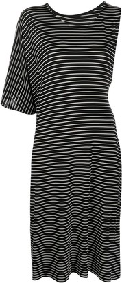 MM6 MAISON MARGIELA Asymmetric Stripe Dress