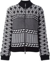 DSQUARED2 Japanese knit pattern jacket
