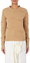 J.W.Anderson Women's Draped-Pocket Wool-Cashmere Sweater