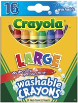 Crayola 16 Ct. Large Washable Crayons