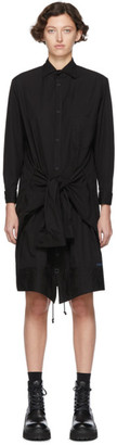 Regulation Yohji Yamamoto Black R-Up/Down Shirt Dress