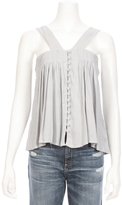 MCGUIRE Harper Tie Button Top