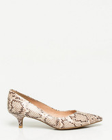 Le Château Snake Print Leather-Like Pump
