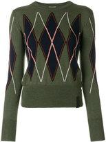 Kenzo diamond print jumper
