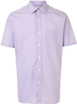 Kent & Curwen Striped Short-Sleeved Shirt