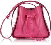 3.1 Phillip Lim Soleil Bougainvillea Leather Mini Bucket Bag