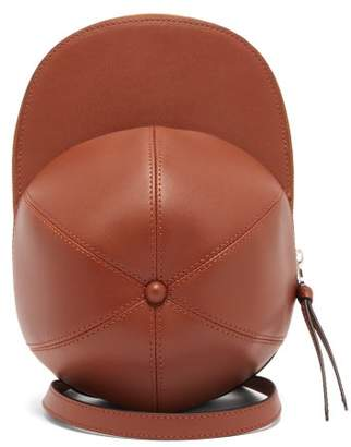 J.W.Anderson Cap Leather Cross-body Bag - Womens - Tan