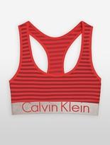 Calvin Klein Steel Microfiber Bralette