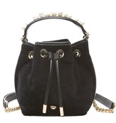 Juicy Couture Velvet Wilshire Woodlands Mini Bucket Bag