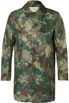 Mackintosh - Slim-fit Camouflage-print Shell Raincoat
