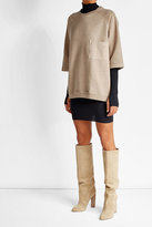 Yeezy Suede Knee Boots