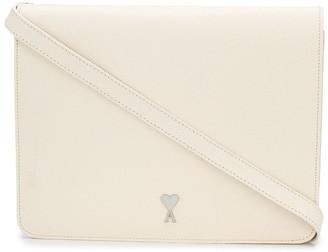 AMI Paris Medium Leather Accordion Bag