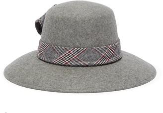 Eugenia Kim 'Stevie' check plaid band wide brim fedora hat