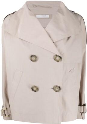 Peserico Oversized Trench Jacket