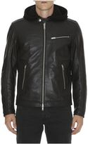 Dondup Biker Leather Jacket