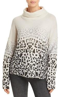 Vintage Havana Faded Leopard Print Sweater