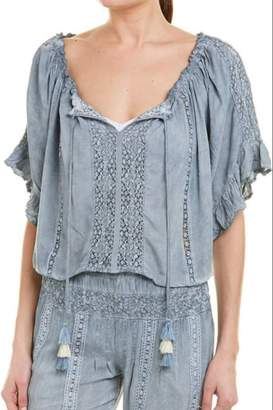Surf.Gypsy Pleated Blouse