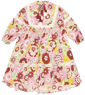 Dodo Bar Or Kids Floral cotton dress