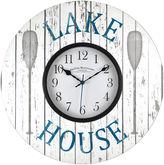 Asstd National Brand FirsTime Lake House Wall Clock