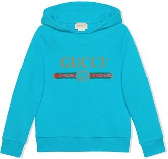 Gucci Kids Children's sweatshirt with Gucci logo