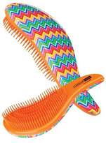 Cala Tangle Free, Detangler Hair Brush, Rainbow Zigzags