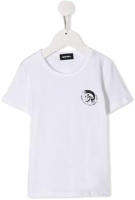Diesel printed logo T-shirt