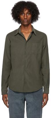 Kenzo Green Corduroy Slim-Fit Shirt