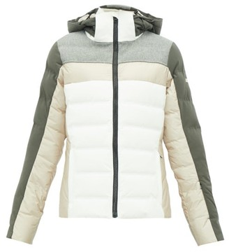 BEIGE Capranea - Cloud Quilted Down Ski Jacket - Womens