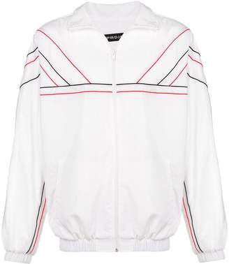 Y/Project piped trim sports jacket