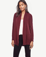 Ann Taylor Cashmere Open Cardigan