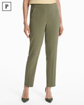 White House Black Market Petite Crepe Relaxed Ankle Pants
