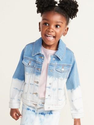 Old Navy Dip-Dyed Jean Jacket for Toddler Girls