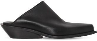 Ann Demeulemeester Leather Slip On Loafers
