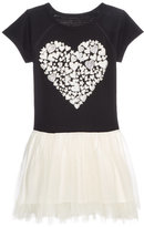 Epic Threads Heart Graphic-Print Dress, Toddler and Little Girls (2T-6X), Created for Macy's