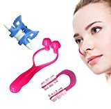 Scenstar 3PCS Nose Up Clip &Nose up Lifting Shaping Bridge Lifting Shaping Shaper Clipper Straightening Beauty Set