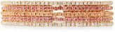 Greenbeads by Emily & Ashley Slim Crystal Bangles, Set of 5, Pink