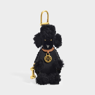 Tory Burch Origami Poodle Key Fob