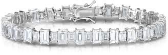 Chloé & Madison Sterling Silver & Crystal Tennis Bracelet
