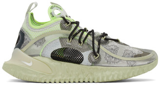 Nike Green ISPA Flow 2020 SE Low-Top Sneakers