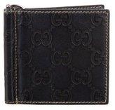 Gucci Guccissima Money Clip Wallet