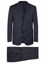 Pal Zileri Navy Pinstriped Wool Travel Suit
