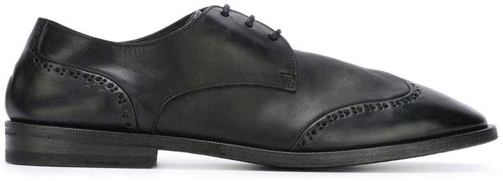 Marsèll punch holes derby shoes