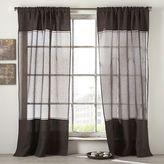 Tonal Linen Sheer Window Panel
