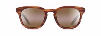 Maui Jim Koko Head H737-10M | Polarized Matte Tortoise Classic Frame Sunglasses Patented PolarizedPlus2 Lens Technology